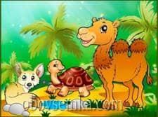 Загадки в стихах  про животных