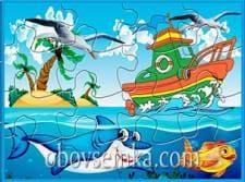 Паззлы морские. Серия 03
