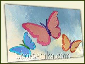 Як зробити красивого метелика з паперу