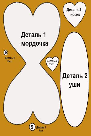 Шаг 1. Шаблон открытки