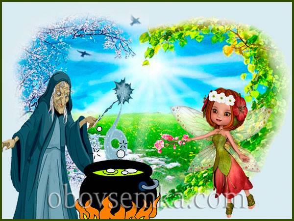 сказка для детей про весну