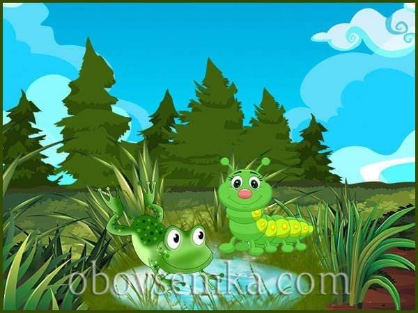 зеленая природа