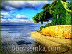 Старий Будинок і Море. (Із серії Казки книжкової шафи)