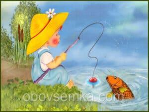 Капризный карась или неудавшаяся рыбалка