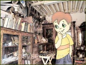 Хлопчик, який не хотів вчитися (казка книжкової шафи)