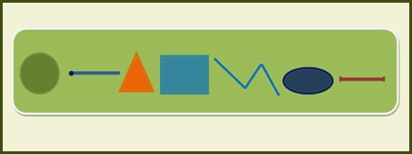 последовательность геометрических фигур