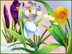 Загадки про весенние цветы в стихах